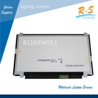 "Quality 11.6"" Auo Lcd Laptop Screen , B116XW03 V1 LCD Replacement Screen 40 pins for sale"