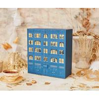 China Custom Printed Gift Cardboard Packaging Chocolate Advent Calendar Box with little drawers on sale