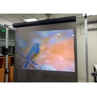 Buy cheap Clear Transparent Holographic Screen , Holoscreen 100 Microns For Display / Store product