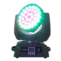 Buy cheap 36x10w RGBW 4in1 Circle Control LED Wash DMX Moving Head Lights Zoom product