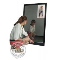 Buy cheap 13.3 Inch Magic Mirror Advertising Player , Bathroom Body Motion Sensor Mirror Media Player Android product