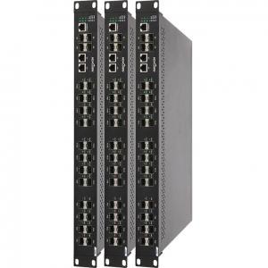 Buy cheap 100 - port industriel du commutateur 28 du gigabit 240VAC, 19