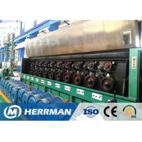 High Speed Aluminium Wire Rod Drawing Machine Separate Motor Controlled for sale