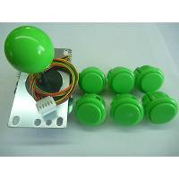 Buy cheap USD31.95---SANWA Pack-1 Joystick and  6pcs OBSF30 sanwa push buttons green color product