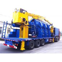 Buy cheap 110KW Scrap Aluminum Alloy Portable Baler , Hydraulic Baling Machine product