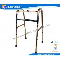 Folding Rollator Walker With One Button , walkers medical equipment for Disabled Elderly