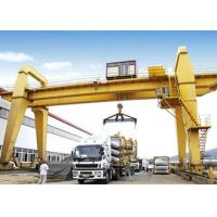 Buy cheap 40 50 100 Ton Double Girder Gantry Crane Rail Mounted 18 - 35m Span Optional Color product