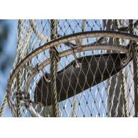 Buy cheap Corrosion Resistant Decorative Rope Mesh Aperture 25x25 - 200x200mm For Architectural product