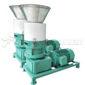 China Mechanical Wood Pellet Making Machine Large Capacity Pellet Maker For Pellet Stove on sale