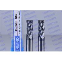 Buy cheap AlTiN Coating Carbide Roughing End Mills 4 Flute 25 mm Cuttting Length product