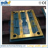 China stone crusher spare parts Metso C96 jaw liner plate on sale