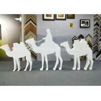 Buy cheap Custom Size Store Window Decorations PVC Camel Sculpture Bespoke Carving Animal Statues product