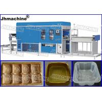 Buy cheap Plastic sheet Vacuum Thermoforming Machine For biscuit and cook trays/Hot sale thermfornin product