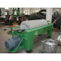 Buy cheap Antifriction Horizontal Decanter Centrifuge Anticorrosion Stainless Helical Pusher product