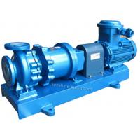 China CGF Fluorine plastic lining high temperature magnetic pump no leakage pump on sale