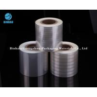 Buy cheap Holographic Transparent Metallized Shrink Film For Tobacco Cigarette / Medicine Box Packing product