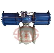 Buy cheap Robinet à tournant sphérique de cachetage dur de valve de la VALVE API6D de KATA demi DN100~900 product
