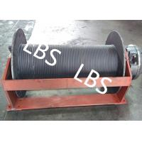 China Groove Sleeve Hydraulic Crane Winch 3 MM - 190 MM Wire Diameter on sale
