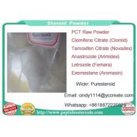 China Arimidex Powder Oral Anabolic Steroid Anastrozole Used In PCT Cycle wholesale