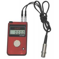 Buy cheap 4 Digits LCD Ultrasonic Thickness Gauge 0.1mm Resolution For Steel Measure product