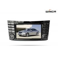 Buy cheap Gps navigation car audio android 6.0 Mercedes E Class radio dvd with wifi rearview camera from wholesalers