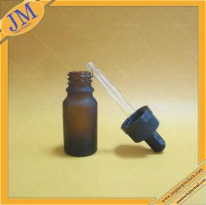Buy cheap 10ml a givré la bouteille en verre ambre de compte-gouttes avec le chapeau sans danger pour les enfants noir product