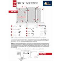 Used galvanized pvc coated chain link fence for sale