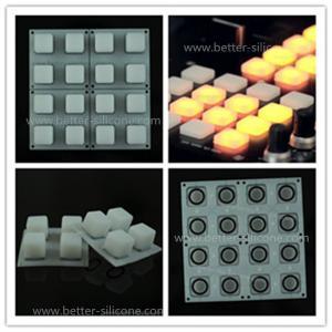 Buy cheap Клавиатура силикона кнопок командного выключателя эластомера 4кс4 прозрачная для дистанционного управления product