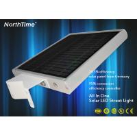 Buy cheap High Brightness Solar Integrated Street Light With Lithium Battery 6-7 Hrs Charge Time product