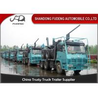 Buy cheap 3 Axle Logging Heavy Equipment Trailers For Forest Timber Transportation product
