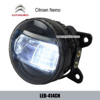 China Citroen Nemo front fog lamp assembly LED daytime running lights DRL LED-414CN wholesale