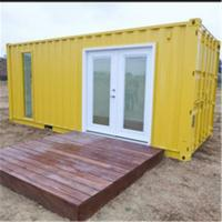 China Luxury prefab exterior home container luxury container home on sale