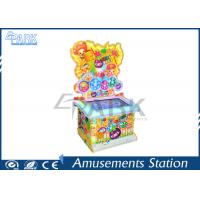 Buy cheap 32 Inch Kids Happy Fruit Redemption Game Machine / Hammer Knock Arcade Game from wholesalers