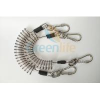 Core Reinforced Coil Tool Lanyard 1.5 Meters With Stainless Steel Clips