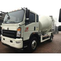 Sinotruk Howo7 Brand Cement Mixer Truck 4 M3 For Concrete Batching Plant
