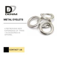 Buy cheap Washable Silver Color Metal Grommet Eyelet Rivets product