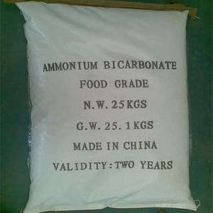 Bicarbonate d'ammonium (ABC CAS aucun : 1066-33-7)