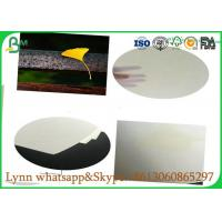 Buy cheap 0.3mm to 3.0mm Glossy Art Paper / Uncoated White Absorbent Paper Hundred Percent Natural Pulp product
