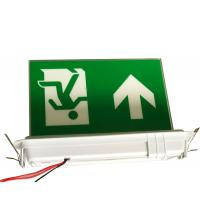 Buy cheap 3 Hours Operation Led Ceiling Recessed Emergency Exit Signs With 3 Years Warranty from wholesalers