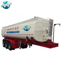 Buy cheap Tri Axle  pneumatic dry  bulk cement hauling chemical tanker trailer product
