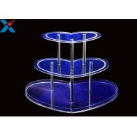 Buy cheap Professional Acrylic Wine Glass Holder , Clear Lucite Wine Holder Rack Durable product