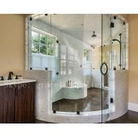Buy cheap 6 mm thick Stronger toughened safety glass for bathroom shower door product