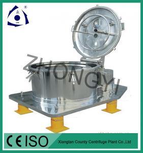 Buy cheap Centrifugador superior manual vertical de aço inoxidável da cesta da descarga product