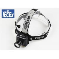 Buy cheap Portable 178Lm Super Bright Headlamp AAA 2W  Simple Stripe Design product