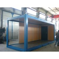Buy cheap Folding Steel Mobile Prefab Modular Homes Fireproof For Warehouse product