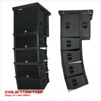 Buy cheap Single 10 Inch Active Line Array Speaker System Birch Plywood product