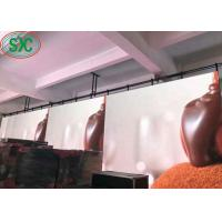 Buy cheap High Brightness and definition RGB SMD LED Screen  indoor P5  With Iron / Steel Super Thin Cabinet product