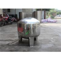 China Small 1000L Capacity RO Water Storage Tank Stainless Steel Water Tank on sale