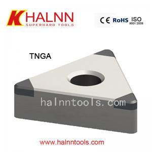Herramientas de corte del CBN del compuesto de TNGA BN-H21 difícilmente a trabajar a máquina de acero templado