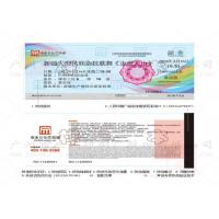 Bus Ticket Printing Services 86 * 54 mm With Anti - Counterfeiting Technology
